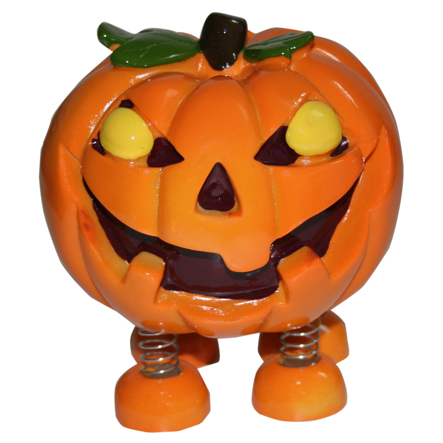 Spring Leg Pumpkin Monster Halloween Money Coin Bank