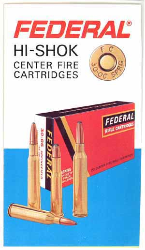 Federal Hi-Shok cartridges advertising brochure vintage hunting ammo sporting