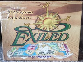 RARE Brand New and Sealed EXILED Board Game, Danger in the Desert, Famil... - $14.84
