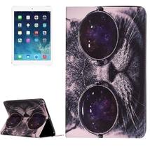 For iPad Air 2/iPad 6 Cat Pattern Flip Leather ... - $16.90