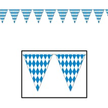 "Beistle Party Accessory Oktoberfest Pennant Banner 10"" x 12' - $3.47"