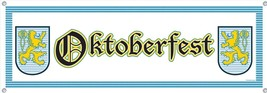 Oktoberfest Sign Banner Party Accessory (1 count) (1/Pkg) - $3.47