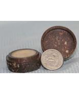 Auric Blends Temple Essence Perfume Solid Soapstone Jar 1/5th oz - $11.47