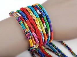 Lot of 10 Friendship cord bracelet - $8.00
