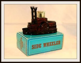 Avon Spicy After Shave Side Wheeler Decanter 5 oz. - $30.00