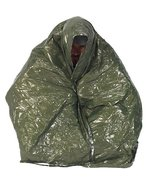 Pro Force Nd?r Emergency Survival Blanket, Olive /Silver - $8.81