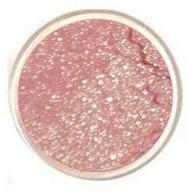 Primary image for Sparkly Pink Eye Shadow Bare Mineral Glitter Eye Makeup Pastel Glitter Rose Gold