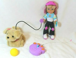 2002 Mattel Shannan Doll & Scooch Puppy Remote Control & Accessories HTF... - $49.49