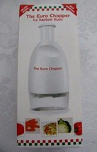 The Euro Food Chopper NIB As Seen On TV Chops Vegetables Onions Nuts Eve... - $12.19