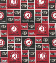 Alabama Crimson Tide Fabric Hair Scrunchie Scrunchies by Sherry Bama NCAA - $6.99