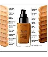Avon Ideal Flawless Invisible Coverage Liquid Foundation Dark Cocoa Z306 - $19.95