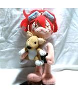 "Cowboy Bebop ""Edward & Ein"" UFO Catcher / Anime Plush - $14.88"