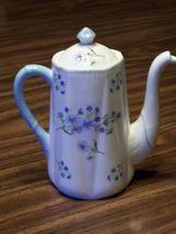 Shelley  Blue Rock 13591Coffee Pot & Lid Fine Bone China England - €149,99 EUR