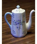 Shelley  Blue Rock 13591Coffee Pot & Lid Fine Bone China England - $175.00