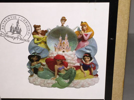 NEW Disney Parks PRINCESS Musical Snowglobe! 6 ... - $69.29