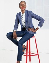 NWT Boden Draycott Checks Blazer Jacket Size 14 US - $42.00