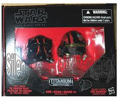 Star Wars Black Series Die-Cast Metal Helmets TIE FIGHT PILOT ELITE & PO... - $24.95