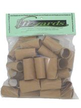 Half Dollar Crimped End Gunshell Paper Coin Wrappers - 40 Pack - $5.99