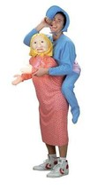 Mamas Boy Costume Mommy Adult Men Halloween Party Unique Plus Size 42-46... - $67.99