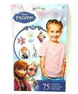 Disney Frozen Tattoos Package of 75 Anna Elsa Olaf - $6.99