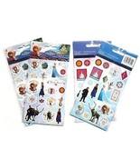 5 Packages of 4 Sheets Disney Frozen Elsa Anna ... - $12.99