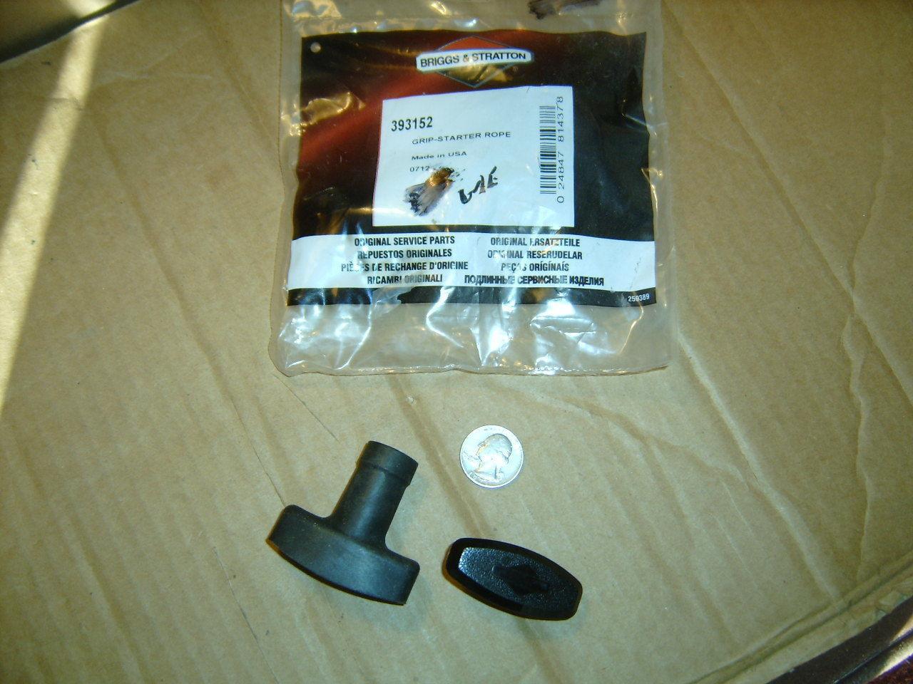 Genuine OEM Briggs & Stratton Starter Pull Handle Assy. Pt # 393152 *NEW* B8