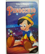 Walt Disney Materpiece: PINOCCHIO VHS - $5.95