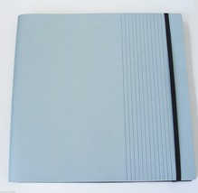 Sketchbook Journal in Baby Blue Soft Leather by Luxury Designer Pinetti - $102.85