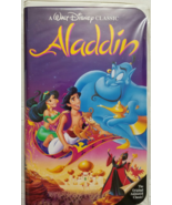 Walt Disney Black Diamond Classic:  ALADDIN Original Animated Classic VHS - $14.95