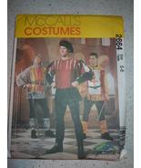 McCall's Men's & Kids Medieval Costumes Size 5-6 Pattern # 2664 Uncut - $5.99