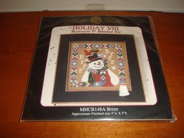 Mill Hill Brrrrr Holiday VIII Buttoned & Beaded Cross Stitch Kit - $12.99