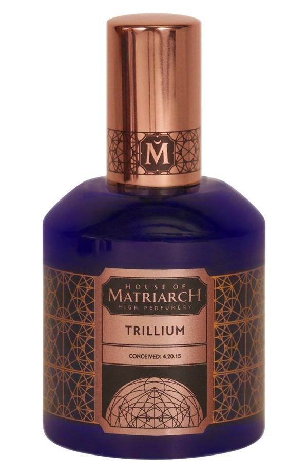 TRILLIUM by HOUSE OF MATRIARCH 5ml Travel Spray Perfume BLACK TEA TOLU AMBER