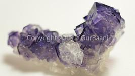 Aesthetic Purple Fluorite and Aragonite cluster #3 - $69.00