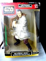 Star Wars Episode 1 Qui Gon Jinn Collectible Figurine in Original Box - $31.50