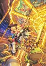 Jigsaw Puzzle D-1000-385 Disney Mickey Merry-go-round 1000 pcs Japanese JPN - $120.49