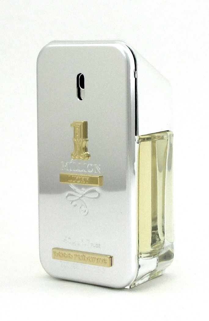 1 Million Lucky By Paco Rabanne 1.7 Oz Eau De Toilette Spray For Men Sealed New