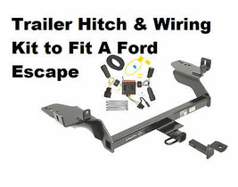 Class II Trailer Hitch & Wiring Kit  for Ford Escape 2017-2019 - $237.93