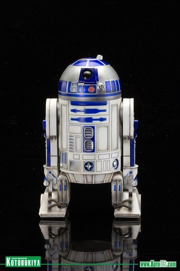 Star Wars Force Awakens C-3PO R2-D2 BB-8 Artfx+ 1:10 Scale Statue Set Kotobukiya
