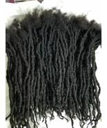 "100% Human Hair Locks handmade Dreadlocks 90 pieces 8"" color 30 - $323.40"