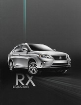 2012/2013 Lexus RX 350 450h HYBRID brochure catalog 1st Edition 13 US F ... - $9.00