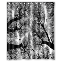 Tree #01 Shower Curtain Waterproof Made From Polyester - $31.26+