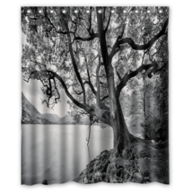 Tree #07 Shower Curtain Waterproof Made From Polyester - $31.26+