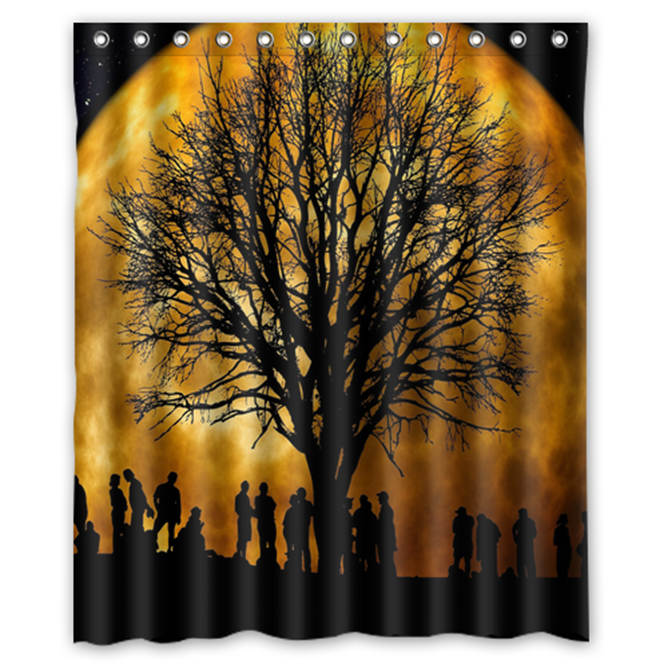 Primary image for Tree #11 Shower Curtain Waterproof Made From Polyester