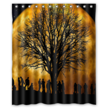 Tree #11 Shower Curtain Waterproof Made From Polyester - $31.26+