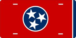 Tennessee Flag Personalized Custom Novelty Tag Vehicle Car Auto Motorcyc... - $16.75