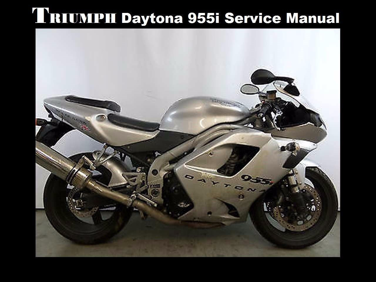 triumph daytona 955i speed triple workshop and 13 similar items rh bonanza com 2003 Triumph Speedmaster Daytona 955I Parts