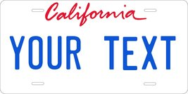 California 1996 Personalized Custom Novelty Tag Vehicle Car Auto Motorcy... - $16.75