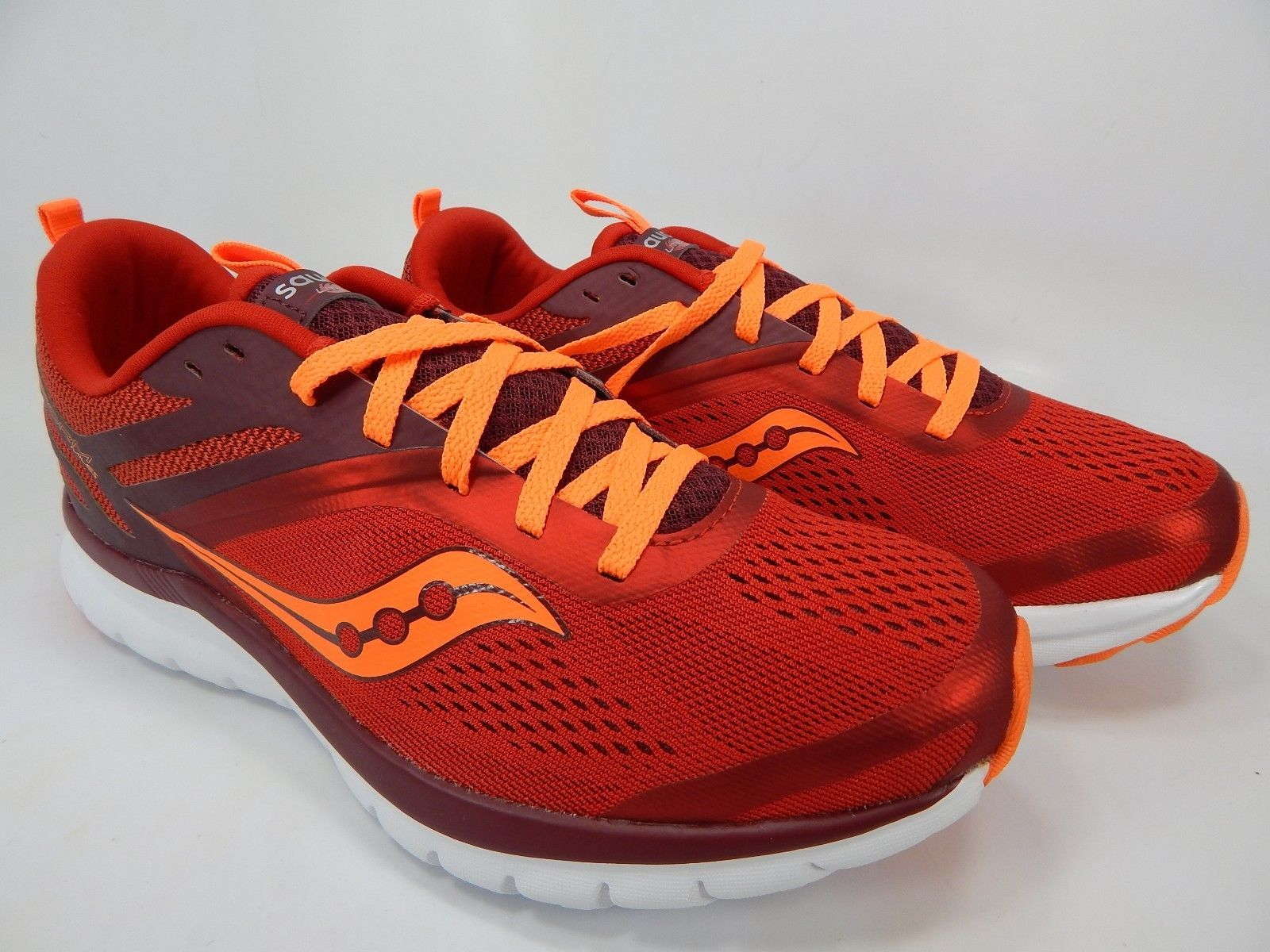 Saucony Liteform Miles Size 9 M (D) EU 42.5 Men's Running Shoes Red S40007-3