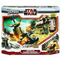 Star Wars Speed Stars Ripcord Game Assault On General Grievous - $12.81