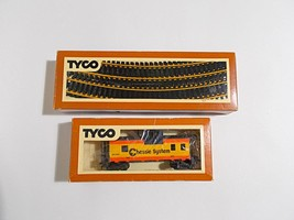 Tyco Trains Caboose Track Lot Chessie Systems Ho Gauge Scale - $19.79